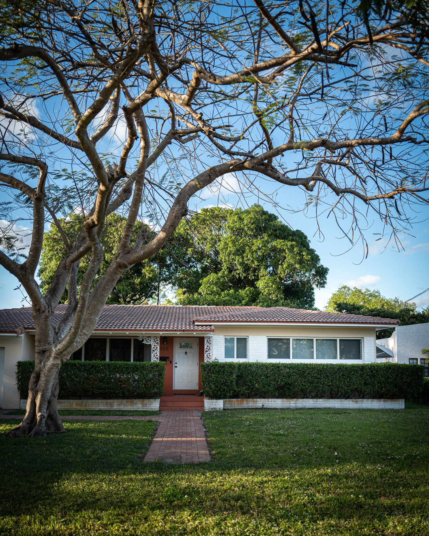 Biscayne Park Home with trees