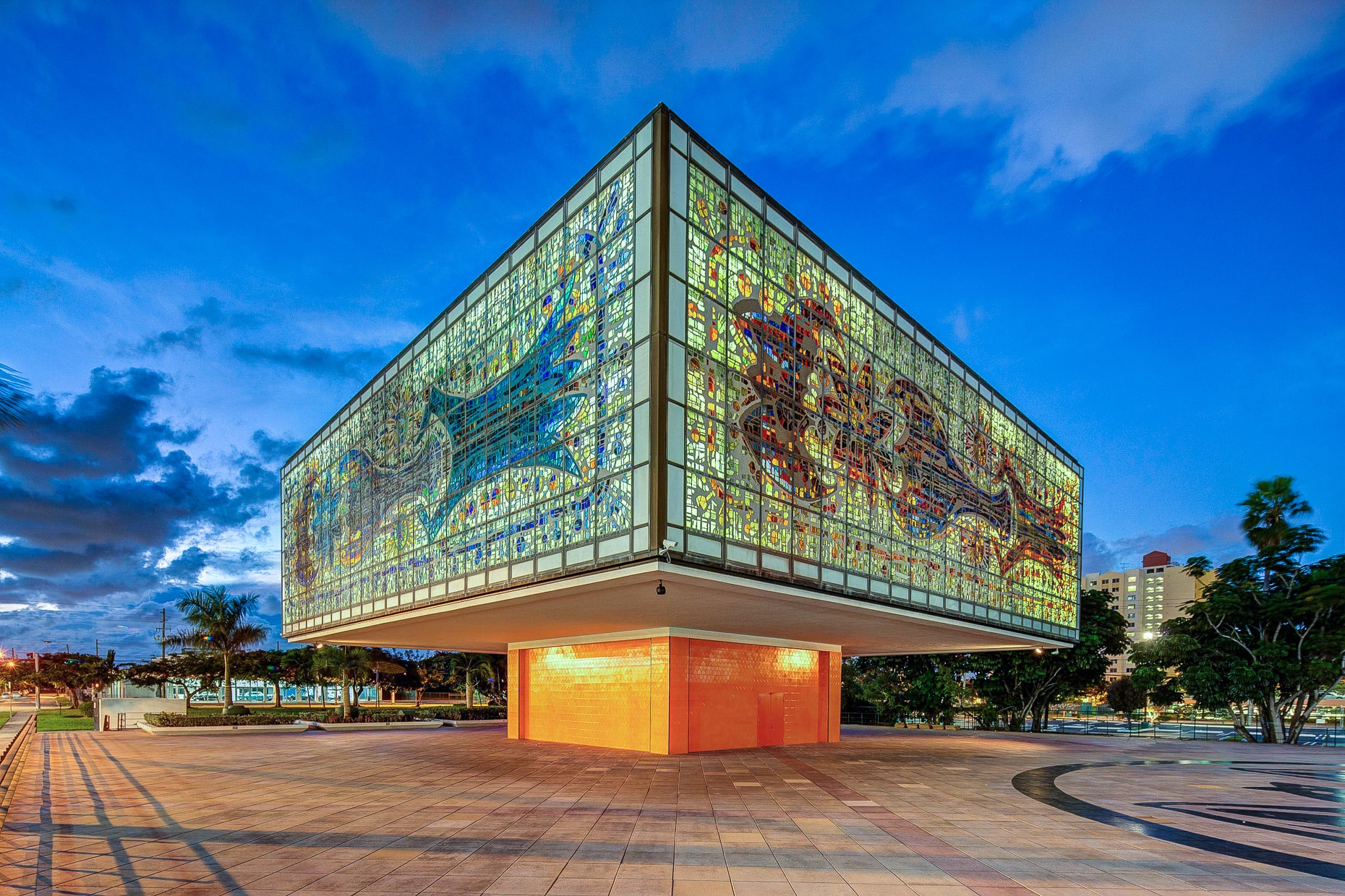 Jewel box for Young Arts